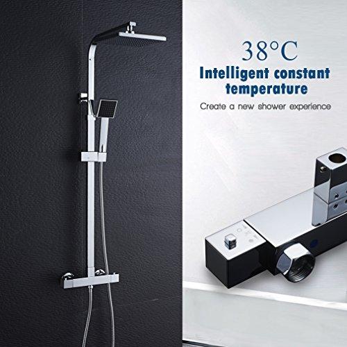 Set de ducha termostática AuraLum - Set de ducha con ...