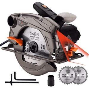 Sierra circular TACKLIFE 1500W 4700RPM, Sierra compatible Ho ...
