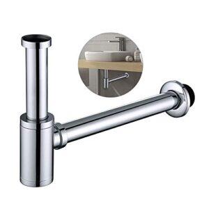 Sifón DESFAU Sifón de drenaje cilíndrico para baño y lava ...