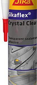Sikaflex Crystal Clear, sellador elástico universitario y adhesivo ...