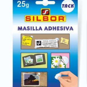 Silbor - TACK 25gr masilla adhesiva.