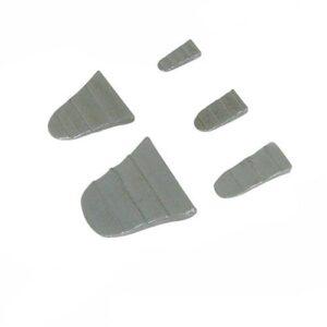 Silverline 273200 - Juego de cuñas de martillo, 10 piezas (1 ...