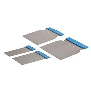 Silverline 398777 - Espátulas para masilla, 4 piezas (50, 80, ...