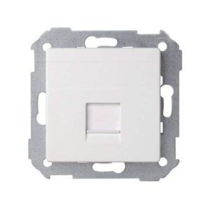 Simon - 82005-30 cubierta rj45 s-82 blanco Ref. 6558230079