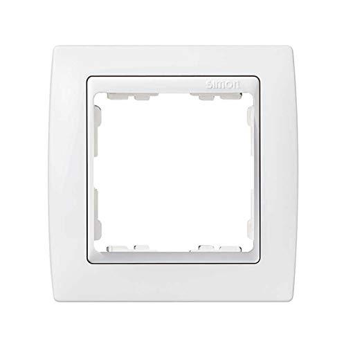 Simon - 82610-30 marco 1 elemento s-82 blanco nieve monocromática ...