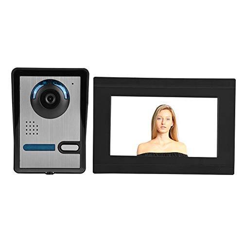 Sistema de video portero, pantalla táctil ...