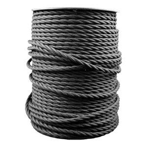 Smartect Cable para lámparas de tela en color Negro - Cable ...