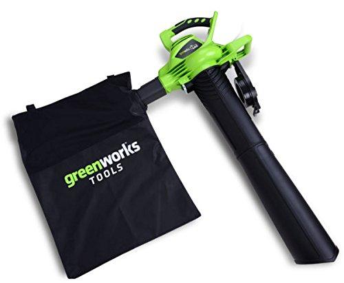 Soplador Greenworks / Aspiradora / Trituradora Inalámbrica ...