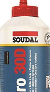 Soudal Pro 30D, pegamento para madera - 750g