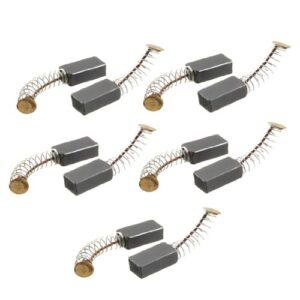 Sourcingmap - ® 5 pares de motores de cepillo de 14 mm x 8 mm x 5 mm ...