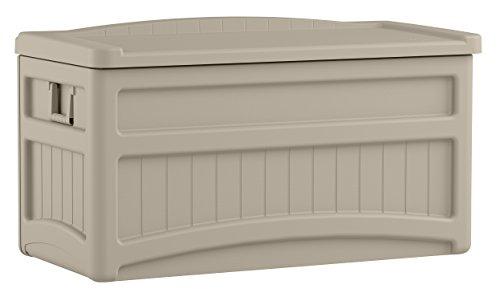 Suncast DB7500 Cofre de resina, beige, 116x61x ...