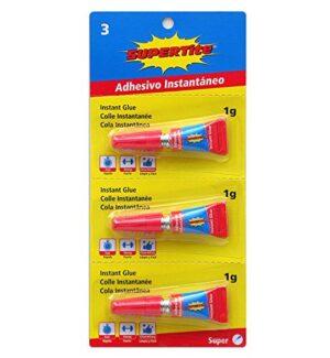 Supertite 2403 Adhesivo instantáneo multidosis, multicolor
