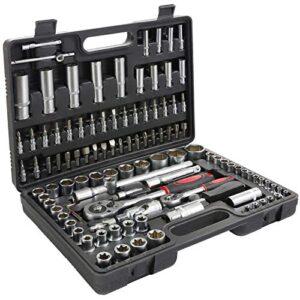 T-Lovendo TLV108p Caja de herramientas 108 piezas Llaves del coche ...