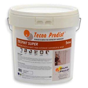 TECPINT SÚPER de Tecno Prodist - 5 Kg (BLANCO) Pintura para ...