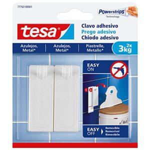 TESA 77763-00001-00 Clavo adhesivo para azulejos y metal 3 k ...