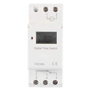 THC Nuevo temporizador programable Interruptor de tiempo Rel ...
