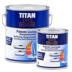TITAN - Lixiviación de patente autolimpiante azul intenso mate ...