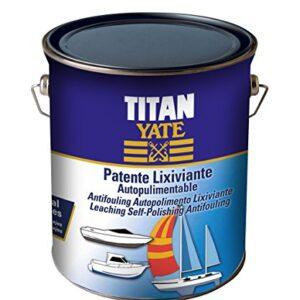 TITAN - patente autolimpiadora de lixiviación mate roja 750ml