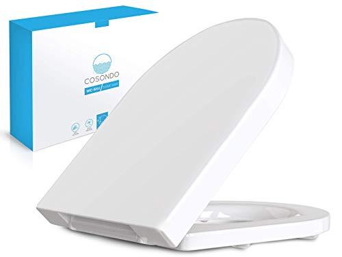 Tapa de inodoro universal Cosondo D-Forma Asiento de inodoro Intel ...