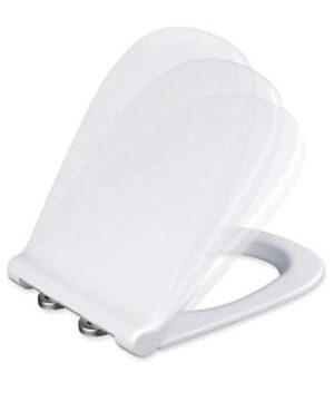 Tapa del inodoro y asiento con caída amortiguada - Compatible ...