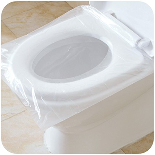 Tapas protectoras desechables para inodoro, resistentes a ...