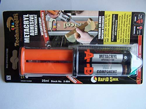 Technicqll Metacrylic Colle ultra forte pour plastiques acie ...