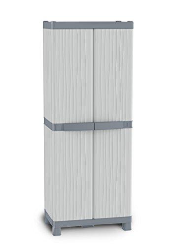 Terry 1002566 Domino Base-2700 Armadio, 70x44x182, gris, 70x ...