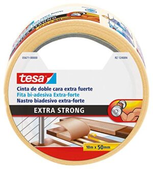 Tesa TE05671-00000-11 Cinta doble cara Extra fuerte 10m x 50 ...
