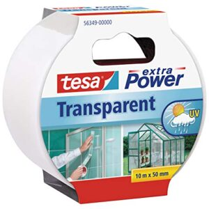 Tesa extra Power Clear Duct Tape - Cinta de reparación impermeable ...
