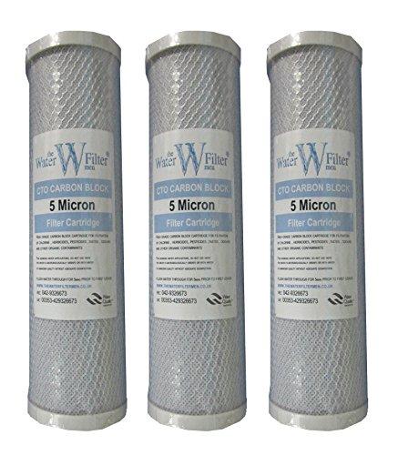 "The Water Filter Men 3 x Cartridge Carbon Block 10 ""x 2.5 ..."