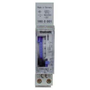 Theben SYN 160 A - Segmento de interruptor de tiempo analógico