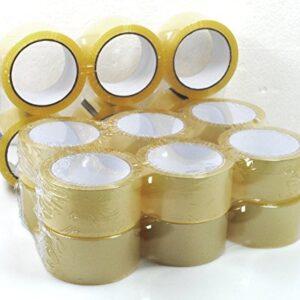 Timtina - Lote de 18 rollos de cinta adhesiva para embalaje ...