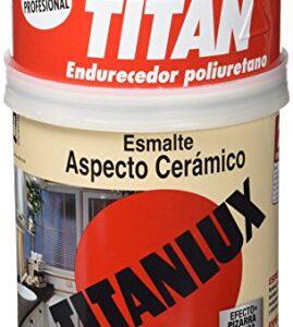 Titan 4200 - Titanlux esmalte cerámico blanco aspecto cerámica ...