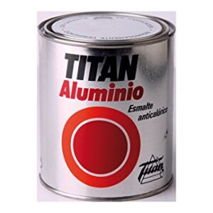 Titan M30716 - esmalte de aluminio anti calórico de 375 ml