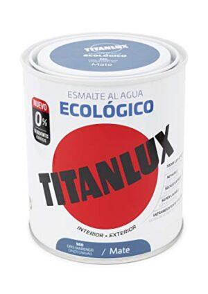 Titanlux - Esmalte ecológico acrílico mate 750 ml (gris maren ...