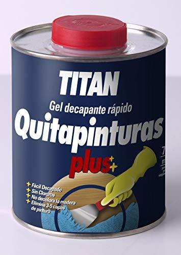 Titanlux - Gel decapante rápido - Removedor de pintura plús, 750 M ...