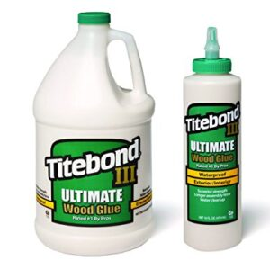 Titebond III Ultimate Wood Glue 3.8 L + Titebond III Ultimat ...