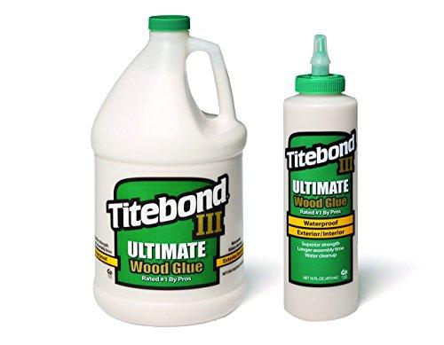 Titebond III Ultimate Wood Glue 3.8 L + Titebond III Ultimat ...