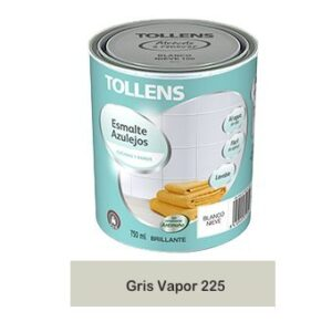 Tollens - Glaseado para azulejos de agua de 750 ml (Steam Grey 2 ...