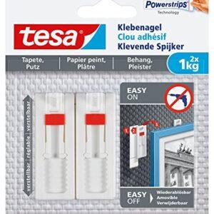 Uñas adhesivas Tesa para empapelado y yeso, ajustables, ...