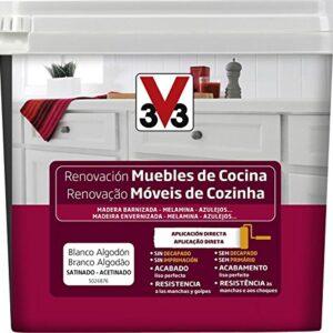 V33 - Reno Muebles de cocina 2L Algodón blanco