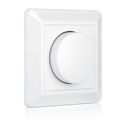 VIPMOON 220-240V 10-300W Interruptor de atenuador LED giratorio de encendido / apagado ...