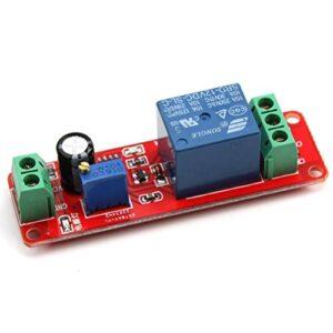 VORCOOL 12V DC NE555 Temporizador de retardo Relé Monostabile Te ...