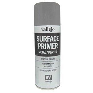 Vallejo 28011. Pintura de imprimación gris en aerosol ...