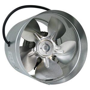 Ventilador de metal galvanizado de 160 mm en conducto ...