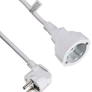 Vivanco SKV 2 W - Cable de extensión de 2 metros, blanco