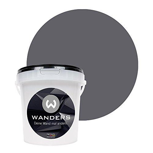 Wanders24 Pintura de pared pintura pizarra mate (1 litro, ...