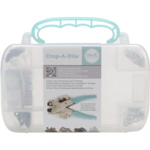 We R Memory Keepers Crop-A-Dile Aqua Box con ojales