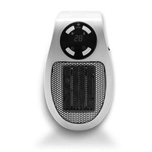 White Heater 500W Portable Ceramic Heater