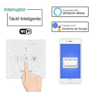 WiFi Blind Switch, Smart Echo Wi-Fi Switch Touch ...
